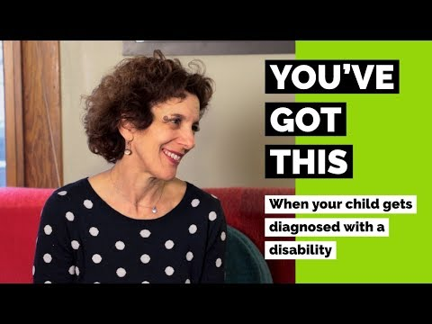 Video When Your Child Gets Diagnosed with a Disability--You've Got This:  Episode 1