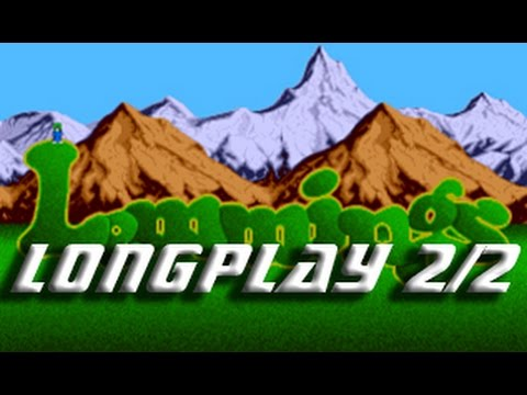 Lemmings (Commodore Amiga) Longplay 2/2