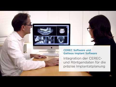 Dentsply Sirona Implantologie Workflow mit Xive-Implantat und CEREC-Einheit