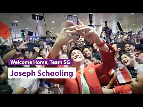 Welcome Home, Joseph Schooling