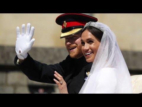زفاف ملكي للأمير هاري وميغن ماركل يخطف أنظار العالم