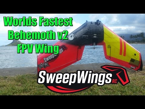 Worlds Fastest Behemoth FPV wing 240KPH - Sweepwings - UCNbMgLsoigN6DCw8O-wmSng