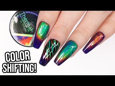 WOW! Color Changing MOOD RING Nails!