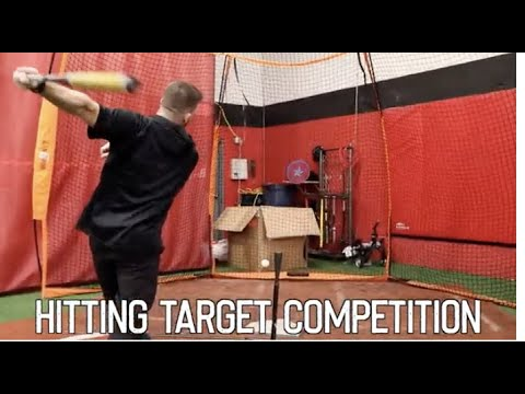 The Baseball Hitting the Target Competition