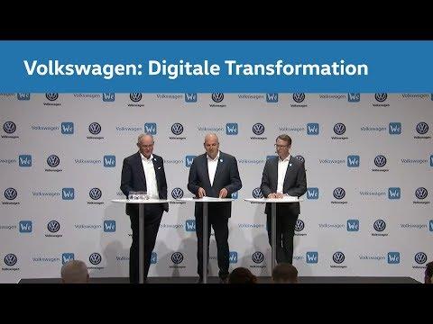 Die digitale Transformation von Volkswagen: Unser Weg in die neue Mobilitätswelt