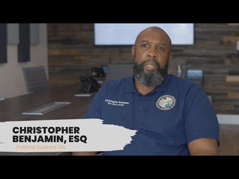 FMU Alumni Spotlight: Christopher Benjamin