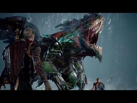 Scalebound - Co-Op Demo - E3 2016 - UCKy1dAqELo0zrOtPkf0eTMw