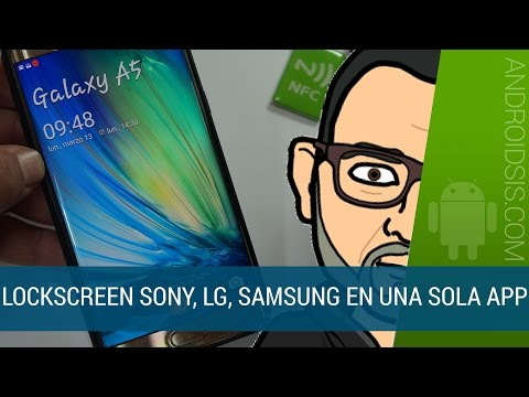 X Locker todas las pantallas de bloqueo en tu Android: Samsung, Sony, LG....