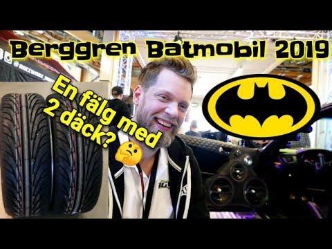 Berggrens Batmobil -En fälg och 2 däck? - Elmia 2019