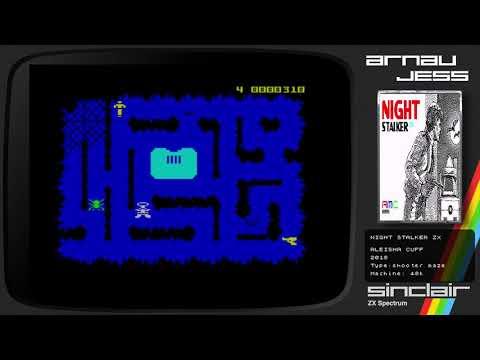 NIGHT STALKER ZX -Zx Spectrum by Aleisha Cuff