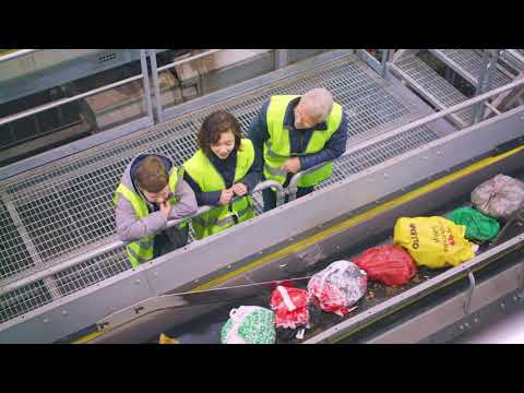 KSRR:s sorteringsanläggning i Moskogen