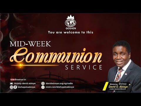 MIDWEEK COMMUNION SERVICE - SEPTEMBER 22, 2021