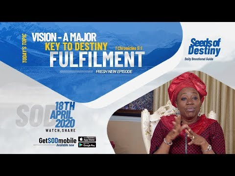 Dr Becky Paul-Enenche - SEEDS OF DESTINY  SATURDAY APRIL 18, 2020