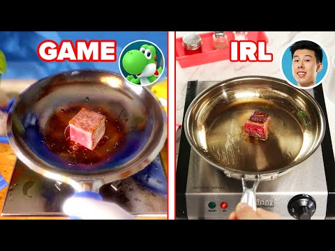 "We Played A ""Mario Party"" Cooking Minigame In Real Life ? Tasty"