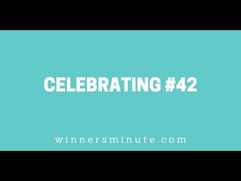 Celebrating #42 // The Winner's Minute With Mac Hammond