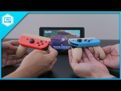 Single Joy-Con Grip - Time-lapse