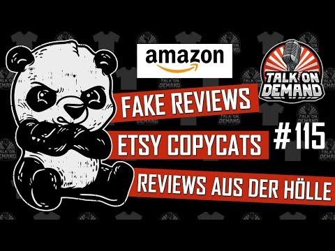 Episode 115 – Amazon Fake Reviews, Copycats & Bewertungen aus der Hölle
