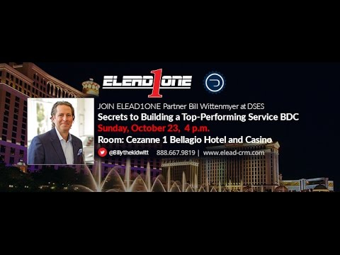 ELEAD1ONE's Bill Wittenmyer at the 2016 DrivingSales Executive Summit