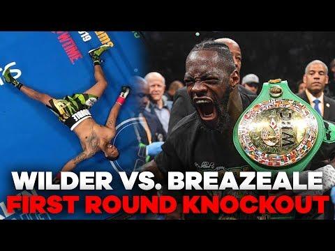 Deontay Wilder MASSIVE Knockout Punch | Wilder vs. Breazeale Highlights - UCja8sZ2T4ylIqjggA1Zuukg