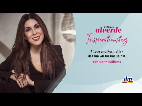 alverde-Inspirationstag x Judith Williams: Pflege und Kosmetik – das tun wir für uns selbst.