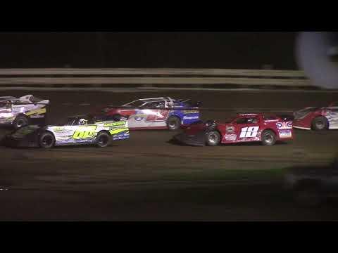 Hummingbird Speedway (8-7-21): Swanson Heavy Truck Repair Semi Late Model Feature - dirt track racing video image