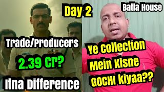 Batla House Box Office Collection Day 2 Producers And TRADE