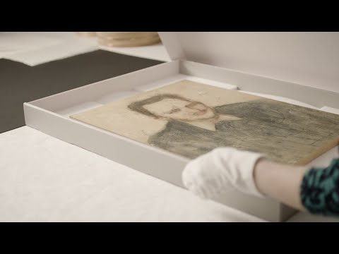 Did you know… that Edvard Munch made works on cardboard?