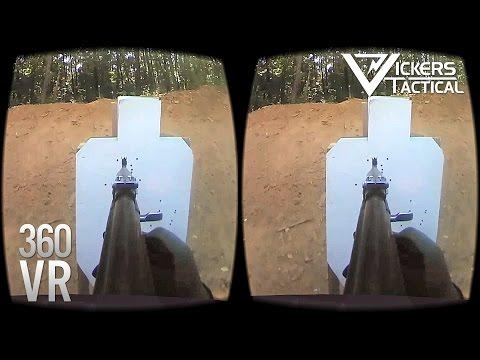 Vickers VR! Bulgarian AK-47 in 4K 360 VR!!!