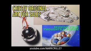 Crilley Original Art for Sale? Seeking Your Thoughts & Advice