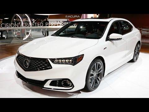 2018 Acura TLX - 2017 New York Auto Show