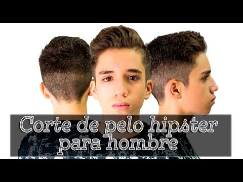 Corte de pelo hipster para hombre