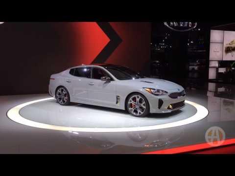 2018 Kia Stinger: Detroit Auto Show - Video
