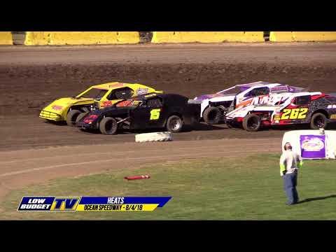 HEAT RACES: Ocean Speedway 8/4/18