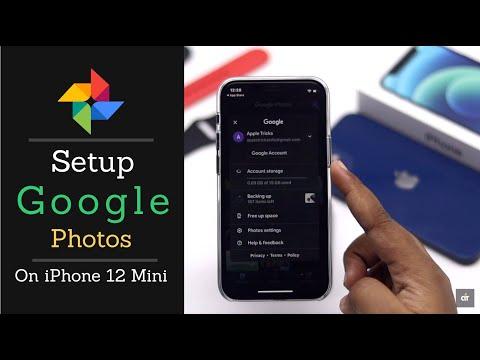 How to Setup Google Photos on iPhone 12 Mini