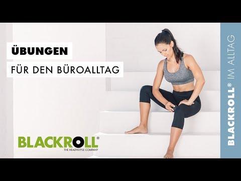 BLACKROLL® Übungen für den Büroalltag
