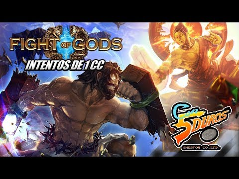 DIRECTO: FIGHT OF GODS (Intentos de 1cc divinos de la muerte)