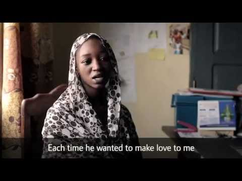 Lamana giftes bort när hon var 15 år