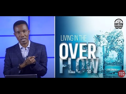 LIVING IN THE OVERFLOW  GODMAN AKINLABI ( SUNDAY SERVICE, MAY 3RD, 2020)
