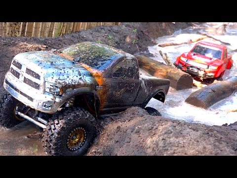 3 TRUCKS GET MUDDY! FiRST TiME ON COURSE as a FAMiLY! #ProudParenting | RC ADVENTURES - UCxcjVHL-2o3D6Q9esu05a1Q