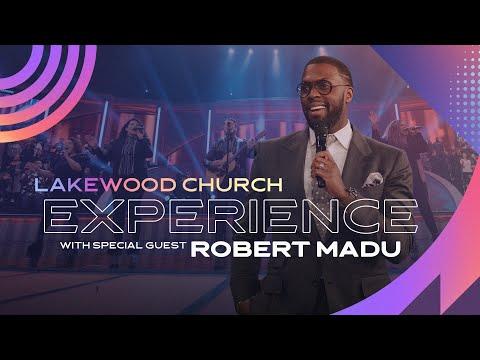 Robert Madu LIVE   Lakewood Church Service  Sunday 11am