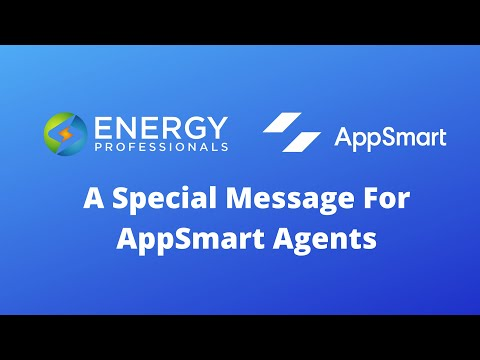 A Special Message for AppSmart Agents