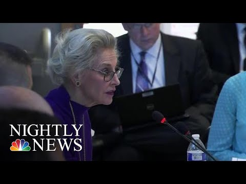 Survivors Of Breast Implant Associated-Lymphoma Tell Their Stories At FDA Hearing | NBC Nightly News
