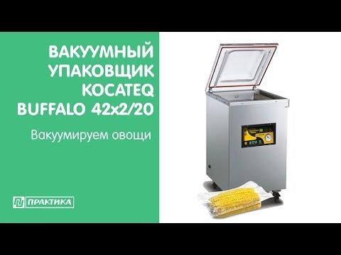 Вакуумный упаковщик Kocateq Buffalo 42x2/20   Вакуумируем овощи - UCn7DYFuY2iq-lbB34XUQ-GA