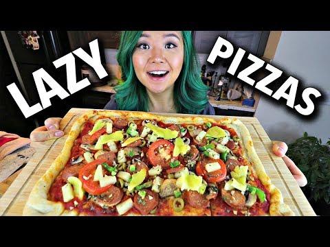 LAZY VEGAN PIZZA 2 WAYS