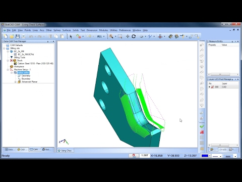 Check Surfaces - BobCAD-CAM Quick Tips