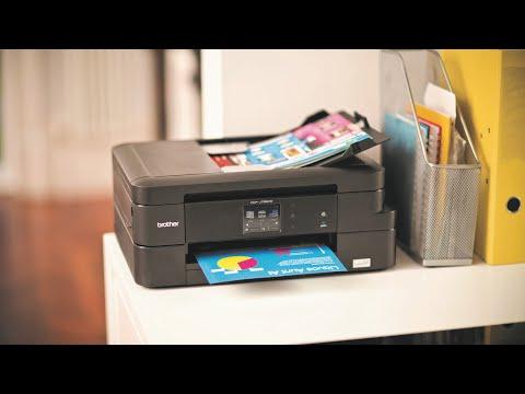 Product tour DCP-J785DW. Inkbenefit: Impresora multifunción de tinta WiFi e impresión a doble cara