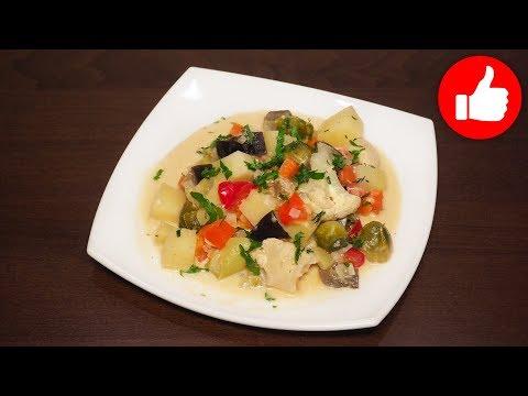 Вкусные овощи в сметанном соусе в мультиварке, рецепт #рецепты для мультиварки