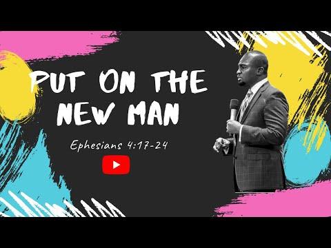 THE SCHOOL OF TYRANNUS  STUDY OF EPHESIANS: PUT ON THE NEW MAN  DAVID OYEDEPO JNR