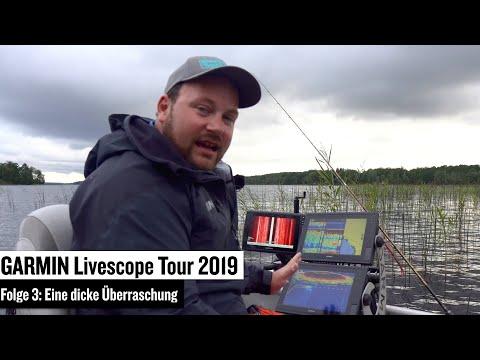 Garmin Livescope Tour 2019 Folge 3: Grundlagen für das Bootsangeln mit Garmin LIVESCOPE