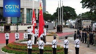 El día 1 se celebra el 22.º aniversario del retorno de Hong Kong a China